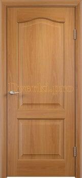 2233, Дверь Классика миланский орех, глухая, 21362, 2 595.00 р., 2233-01, , Двери облицованные ПВХ