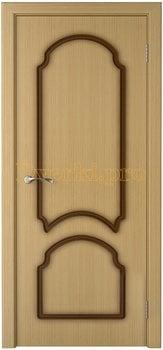 1112, Дверь Соната дуб, глухая, 15774, 4 535.00 р., 1112-01, , Двери шпон Стандарт