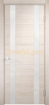 2772, Дверь Турин 06 дуб бежевый вералинга, остекленная, 22455, 6 990.00 р., 2772-01, , Двери экошпон Премиум