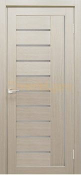 3923, Дверь Y-4 лиственница кремовая, остекленная, 29725, 4 145.00 р., 3923-01, , Двери экошпон Стандарт
