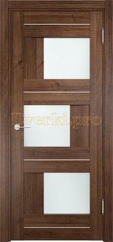 1608, Дверь Сицилия 14 венге мелинга, остекленная, 19179, 9 660.00 р., 1608-01, , Двери экошпон Премиум
