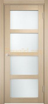 1311, Дверь Рома п-11 беленый дуб, остекленная, 18102, 6 000.00 р., 1311-01, , Двери экошпон Премиум