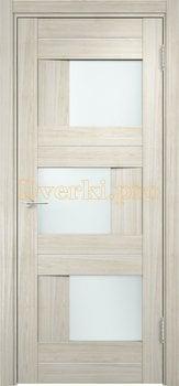 1601, Дверь Сицилия 14 беленый дуб мелинга, остекленная, 19172, 9 660.00 р., 1601-01, , Двери экошпон Премиум