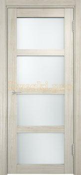 1294, Дверь Рома п-11 беленый дуб мелинга, остекленная, 18085, 6 190.00 р., 1294-01, , Двери экошпон Премиум