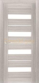 3809, Дверь X-5 лиственница белая, остекленная, 29605, 3 645.00 р., 3809-01, , Двери экошпон Стандарт