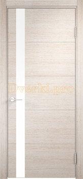 2517, Дверь Турин 03 дуб бежевый вералинга, остекленная, 21960, 5 705.00 р., 2517-01, , Двери экошпон Премиум