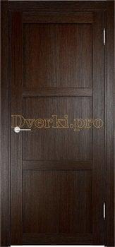 2107, Дверь Баден 01 дуб темный, глухая, 21032, 3 415.00 р., 2107-01, , Двери Eldorf экошпон с 3D покрытием
