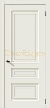 3002, Дверь Капри эмаль RAL9010, глухая, 24215, 5 200.00 р., 3002-01, , Эмаль, серия Классика