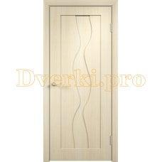 Дверь Вираж беленый дуб, глухая