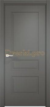 Дверь Ларедо 04 софт графит, глухая