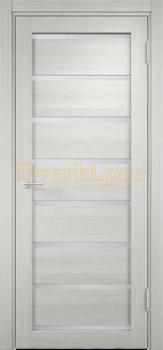 2184, Дверь Мюнхен 05 слоновая кость, остекленная, 21313, 3 100.00 р., 2184-01, , Двери Eldorf экошпон с 3D покрытием