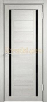 2590, Дверь Берлин 06 (Лакобель) слоновая кость, остекленная, 22033, 4 785.00 р., 2590-01, , Двери Eldorf экошпон с 3D покрытием