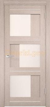 3994, Дверь Z-2 лиственница кремовая, остекленная, 29796, 4 145.00 р., 3994-01, , Двери экошпон Стандарт