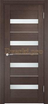 1538, Дверь Сицилия 12 венге, белый триплекс, 19010, 9 470.00 р., 1538-01, , Двери экошпон Премиум
