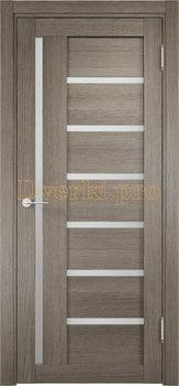 2347, Дверь ЭКО 02 вишня малага, остекленная, 21587, 3 955.00 р., 2347-01, , Двери Eldorf экошпон