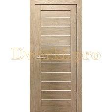 Дверь Бавария 04 3Д-Люкс ясень сонома, остекленная