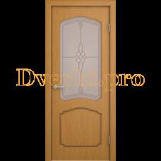 Дверь Каролина дуб, остекленная