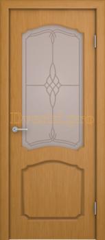 3154, Дверь Каролина дуб, остекленная, 20450, 6 830.00 р., 3154-01, , Двери шпон Комфорт