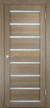 2183, Дверь Мюнхен 05 дуб дымчатый, остекленная, 21312, 3 100.00 р., 2183-01, , Двери Eldorf экошпон с 3D покрытием