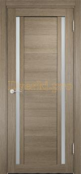 2157, Дверь Берлин 06 дуб дымчатый, остекленная, 21261, 4 265.00 р., 2157-01, , Двери Eldorf экошпон с 3D покрытием