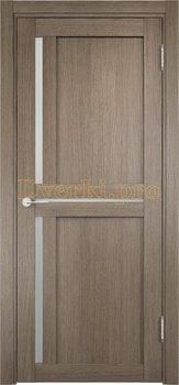 1913, Дверь Берлин 01 дуб дымчатый, остекленная, 20838, 4 055.00 р., 1913-01, , Двери Eldorf экошпон с 3D покрытием