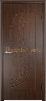 298, Дверь Лиана венге, глухая, 11215, 3 905.00 р., 298-01, , Двери облицованные ПВХ