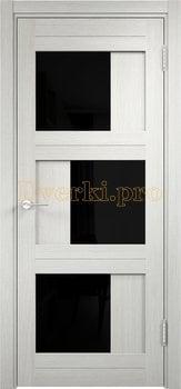 2538, Дверь Баден 10 (Лакобель) слоновая кость, остекленная, 21981, 5 410.00 р., 2538-01, , Двери Eldorf экошпон с 3D покрытием