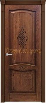 3276, Дверь Наполи 3D миндаль, глухая, 25739, 9 230.00 р., 3276-01, , Двери шпон Комфорт
