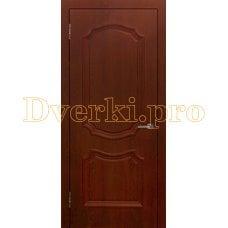 Дверь Асти (объемный багет) коньяк, глухая