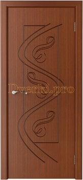 1020, Дверь Вега макоре, глухая, 14770, 4 915.00 р., 1020-01, , Двери шпон Стандарт