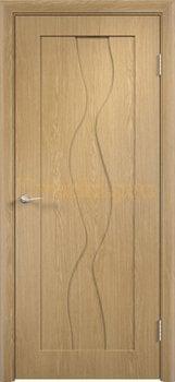 351, Дверь Вираж дуб, глухая, 11398, 4 710.00 р., 351-01, , Двери облицованные ПВХ