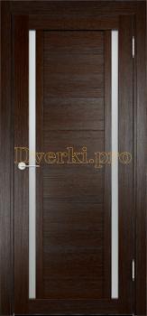 2163, Дверь Берлин 06 дуб табак, остекленная, 21267, 4 265.00 р., 2163-01, , Двери Eldorf экошпон с 3D покрытием