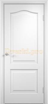 2236, Дверь Классика белая, глухая, 21365, 2 595.00 р., 2236-01, , Двери облицованные ПВХ