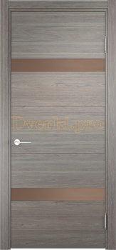 2521, Дверь Турин 05 дуб шервуд вералинга, остекленная, 21964, 5 705.00 р., 2521-01, , Двери экошпон Премиум