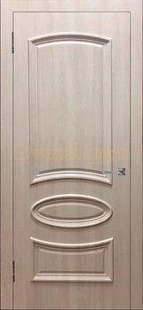 3461, Дверь Ровито (объемный багет) крем, глухая, 26919, 4 120.00 р., 3461-01, , Двери облицованные ПВХ