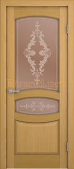 3167, Дверь Сиена дуб, остекленная, 20482, 8 440.00 р., 3167-01, , Двери шпон Комфорт