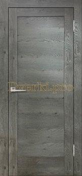 3627, Дверь Бавария 16 3Д-Люкс дуб эдисон серый, глухая, 27545, 3 065.00 р., 3627-01, , Двери экошпон Лайт