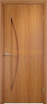 732, Дверь Тип С-06 миланский орех, глухое, 12497, 1 710.00 р., 732-01, , Двери в финиш-пленке