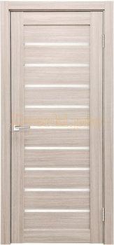3763, Дверь X-2 лиственница кремовая, остекленная, 29559, 3 645.00 р., 3763-01, , Двери экошпон Стандарт