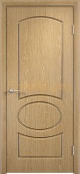 569, Дверь Неаполь дуб, глухая, 11676, 4 225.00 р., 569-01, , Двери облицованные ПВХ