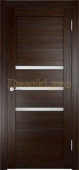 2013, Дверь Мюнхен 01 дуб темный, остекленная, 20938, 3 100.00 р., 2013-01, , Двери Eldorf экошпон с 3D покрытием