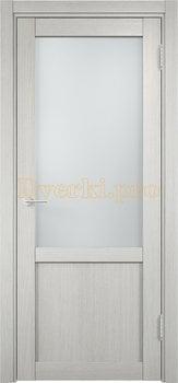2004, Дверь Баден 04 слоновая кость, остекленная, 20929, 3 240.00 р., 2004-01, , Двери Eldorf экошпон с 3D покрытием