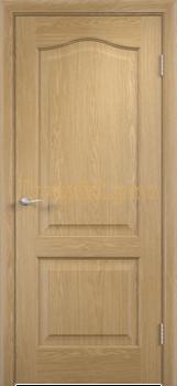 2225, Дверь Классика дуб, глухая, 21354, 2 595.00 р., 2225-01, , Двери облицованные ПВХ