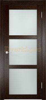 1979, Дверь Баден 02 дуб темный, остекленная, 20904, 3 415.00 р., 1979-01, , Двери Eldorf экошпон с 3D покрытием
