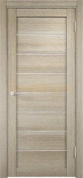 2083, Дверь Мюнхен 04 дуб дымчатый, остекленная, 21008, 3 100.00 р., 2083-01, , Двери Eldorf экошпон с 3D покрытием