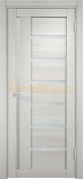 1935, Дверь Берлин 02 слоновая кость, остекленная, 20860, 3 730.00 р., 1935-01, , Двери Eldorf экошпон с 3D покрытием
