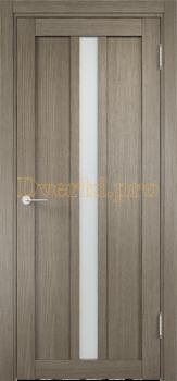 2323, Дверь ЭКО 01 вишня малага, остекленная, 21563, 3 955.00 р., 2323-01, , Двери Eldorf экошпон