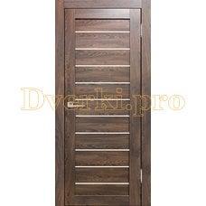 Дверь Бавария 04 3Д-Люкс ясень таволато, остекленная