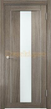 1352, Дверь Сицилия 02 вишня малага, остекленная, белый триплекс, 18568, 9 660.00 р., 1352-01, , Двери экошпон Премиум