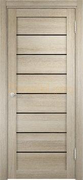 2638, Дверь Мюнхен 04 (Лакобель) дуб дымчатый, остекленная, 22081, 3 900.00 р., 2638-01, , Двери Eldorf экошпон с 3D покрытием